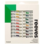 Reeves Acrylic 10ml Assorted Colours Set of 24